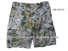 2013 mens fashion short cargo pants stock lot