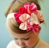 Fashion pink with flower baby hat-wedding supply-wedding favor
