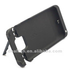 Black For Samsung Galaxy S2 i9100 2800mAh Power Pack Extended Battery Charger Back Case with Kickstand