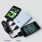 mobile phone mobile power with double output for electronic products