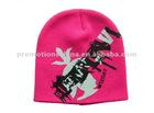 fashion customize knitted ski hats