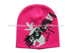 fashion customize knitted ski hats