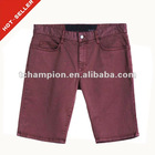 (#TG236S) 2012 five pocket 98% Cotton/ 2% Elastin twill man short