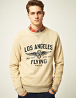 2012 Mens printed LA Sweatshirt - ST0024