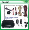 Remote Long Range One Way Car Alarm Security Sytem FAA343