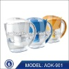 Portable drinking water filter pitcher