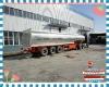 Good quality 30.8cbm Milk tanker semi trailer