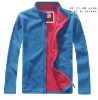 2012 men's contrast color fleece