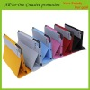 nice leather Case for ipad 2 the new iPad 3 with sleeping function