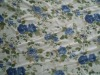 printed emulational silk georgette