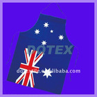 PVC PE apron with Australian flag