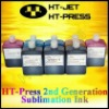 Dye Sublimation ink for heat transfer imprinting