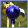 100mm outdoor stainless steel gazing ball