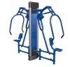 Double Sit & Push Device,Fitness Equipment,Body Building Machine,Outdoor Playground Equipment,Hydraulic Fitness Equipment