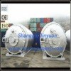 waste tire and rubber pyrolysis machine