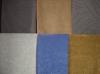T/C base dull nylon pile embossed flock fabric