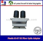 Plastic SC-ST duplex MM Fiber Optic Adapter