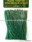 "Plastic Twist Ties 4.5"" Flower Garden WIRE"