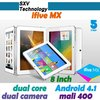 8' ' Internal 3G GPS IPS Screen iFive MX Dual Core 16GB RK3066 1.6GHz Android 4.1 Bluetooth Dual Camera 2.0MP/5.0MP Tablet PC