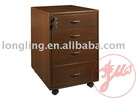 L-4# wooden drawer cabinet