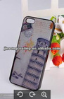 acrylic painted phone case the Leaning Tower of Pisa