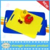 Hot sale elegant and subtle silicone cutting board