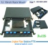 Rack Mount 12 Ports-Fiber Optic Patch Panel