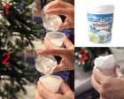 Xmas Christmas Gift Creative Artificial Winter Instant-Snow Powder snow