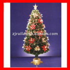 With led ornaments christmas tree