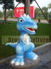 Amusement equipment dinosaur statue
