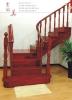 luxury jatoba wooden spiral stair