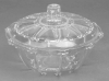 High Quality Elegant Glass Bowl With Glass Lid