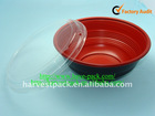 disposable packing plastic soup & food bowl