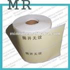 Shen Zhen MINRUI Crumbly Adhesive Label Papers,destructible paper Jumbo rolls