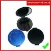Plastic round cosmetic mirror