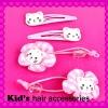 rubber hair clip accessories