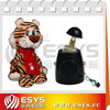 cute tigress plush toy with mechanism module doll