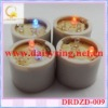on/off switch colorful light flamless LED color changing candle