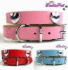 Top Quality 100% Genuine Cow Leather Heart Pet Collar