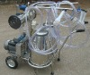 Mobile cow milking machine