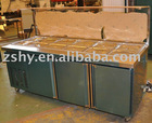Stainless steel Salad preparation bar