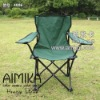 green colour fishing chair with armrest for camping fishing picnic