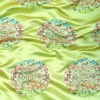 embroidery silk fabric for dress/garment/hometextile