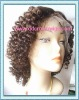 100% high quality curly lace front wigs for blonde women are available in stock