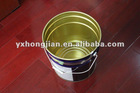 20 liter round metal chemical packing bucket