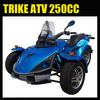 Trike ATV 250CC three wheels quads EEC road legal
