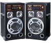 2.0 professional treble stage wooden speaker(ZDJ-1)