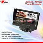 TM-7008 7inch car LED monitor, sunshade