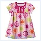 Newborn baby girl floral dress