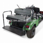2-in-1 Seat Kit, Suitable for E-Z-Go Golf Carts, Made of Stainless Steel, Plastic and Sponge
